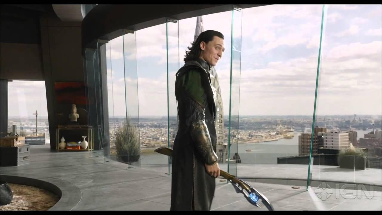 The Avengers Loki Meets Tony Stark Youtube