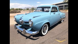 1950 Studebaker Champion Starlight Coupe - SOLD!