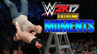 WWE 2K17 - Extreme Moments [TLC + Backstage]