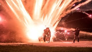 1000 ROCKETS Launched off a BIKE