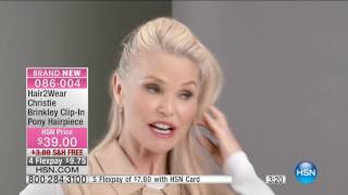 HSN | Beauty Expert Event featuring Christie Brinkley Hair2Wear 09.15.2016 - 05 PM