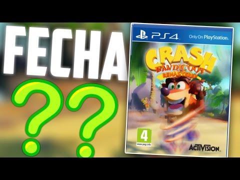 FECHA DE LANZAMIENTO CONFIRMADA?!?! (Crash Bandicoot Remastered PS4)