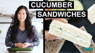 Cucumber Sandwiches in 15 Minutes