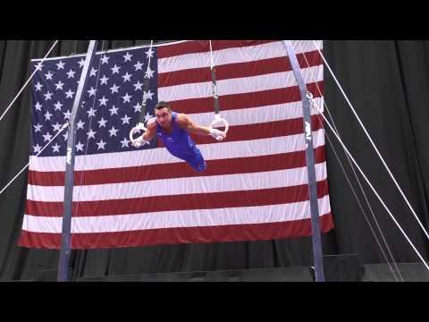 Brandon Wynn - Still Rings - 2014 P&G Championships - Sr. Men Day 1