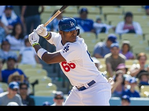 Yasiel Puig 2013 Highlights (Through All Star Break)