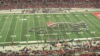 "Ohio State Marching Band ""Back to the Future""- Halftime Show vs. Minnesota 11-7-2015"