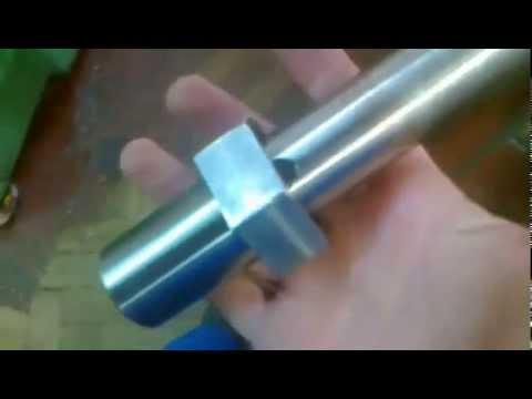 Как извлекать конус морзе из шпинделя фрезерного станка.
