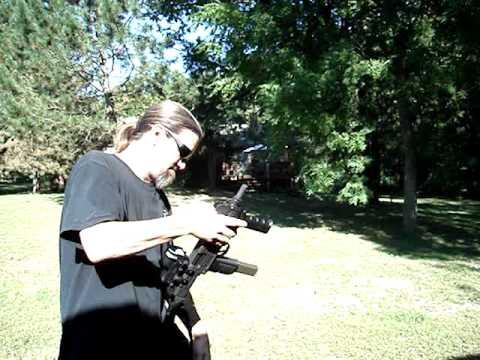 Silenced Uzi 9mm S.b.r.'ed 9mm Vector Uzi
