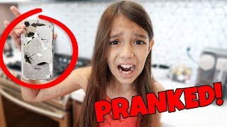 I Destroyed my Sisters NEW iPHONE!