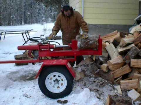 Quantum 20-ton Woodsplitter Wood splitter firewood