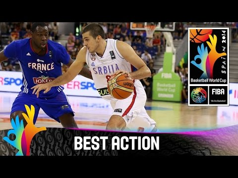 Serbia v France - Best Action - 2014 FIBA Basketball World Cup
