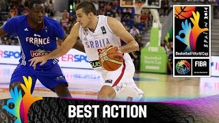 Serbia v France - Best Action - 2014 FIBA Basketball World Cup