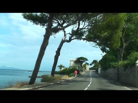 Driving Through Antibes
