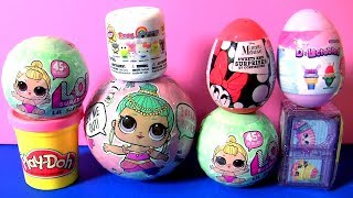 Color Changing LOL Dolls Series 2 SHOPKINS World Vacation Season 8 Toys Play Doh Surprises for Girls