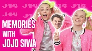 Jojo Siwa Tells Stories About Maddie Ziegler, Jace Norman, and More! | Memory Game