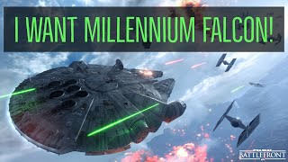 Road to Millennium Falcon! Star Wars Battlefront 2!  Lets Play! GamerzWorld!