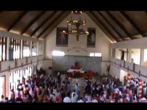 MESSE CINQUANTENAIRE DE LA PAROISSE St THOMAS DE NTOUM au GABON