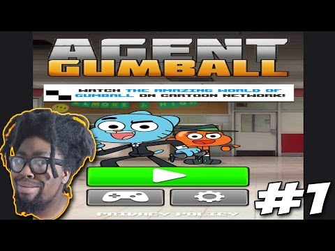 Cartoon Network Games | The Amazing World of Gumball | Agent Gumball #1