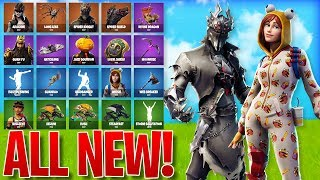 *ALL NEW* LEAKED SKINS/ITEMS IN FORTNITE! - Skins, Emotes & MORE! (Fortnite Battle Royale)