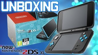UNBOXING: New Nintendo 2DS XL - Black + Turquoise [ITA]