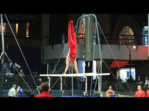 Christopher Stehl - Parallel Bars - 2012 Winter Cup Prelims