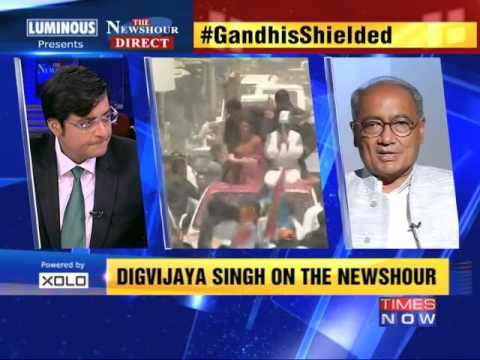 The Newshour Direct: Digvijaya Singh (19th May 2014)