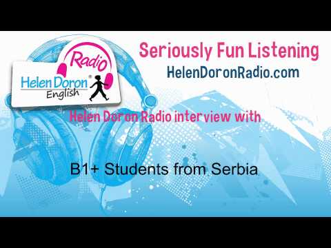 Interview with B1+ Students from Serbia