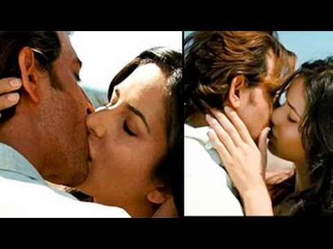 Bang Bang | Hrithik Roshan & Katrina Kaif's Hot Kiss | Bollywood Hot Scenes 2014 | video