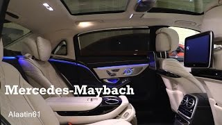 2017 Mercedes Maybach - interior Review