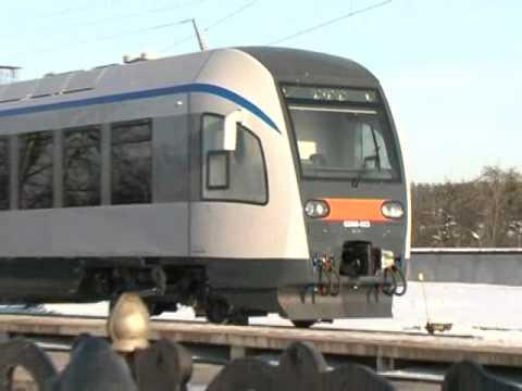 Первый одновагонный дизель-поезд ДП-1 проходит приемочные испытания