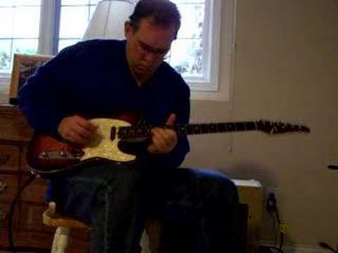 Tom's Cliff Gallup meets Eddie Cochran rockabilly guitar