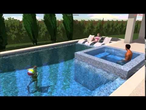 Samon Platinum Pools Houston Youtube