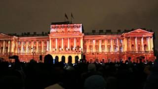 Фестиваль света в Санкт-Петербурге 2016 Мариинский дворец