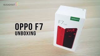 OPPO F7 Diamond Black Unboxing!