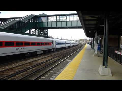 Metro North Hudson line Express Train #856 in Tarrytown