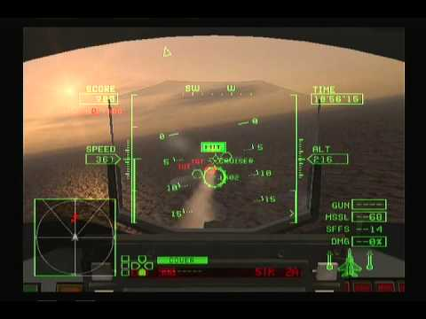 Lets play Ace Combat 0 - ep17 - Rebals