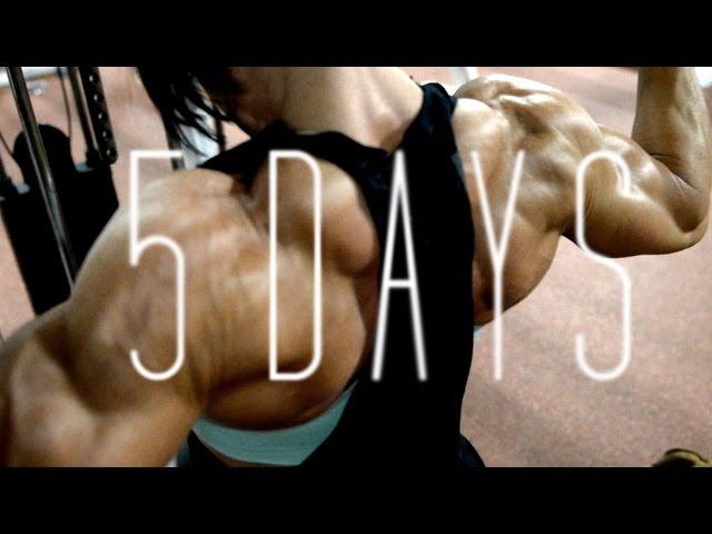 5 days from the stage | OLYMPIA 2014 | Dana Linn Bailey