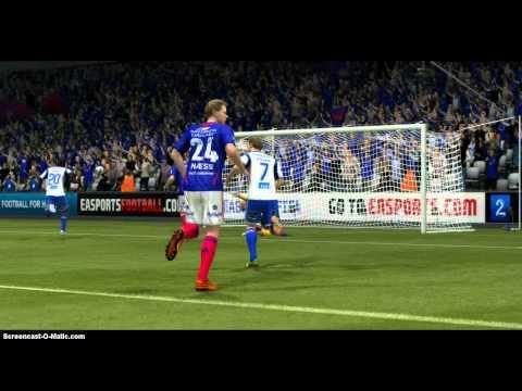 FIFA 13 MAGNUS WOLFF EIKREM GREAT SCORPION KICK GOAL
