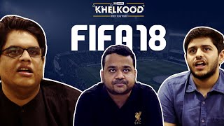 AIB Khelkood : FIFA 18 Tanmay VS Palash