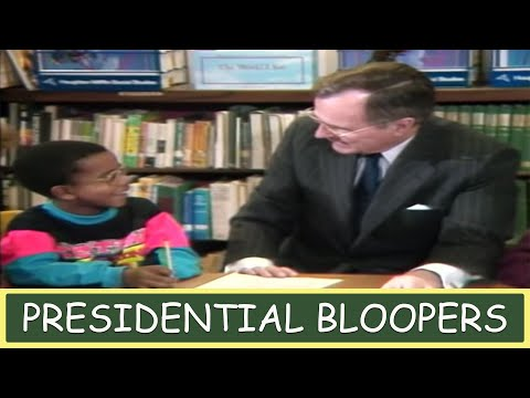 Presidential Bloopers - JFK, Bill Clinton, George Bush, Ronald Reagan, Richard Nixon and More
