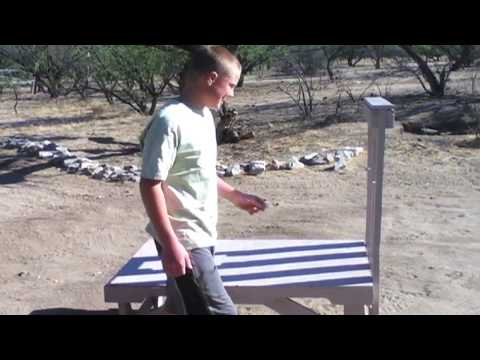 how to build a goat milking stand out of pallets