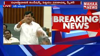 Ramachandra Reddy About Chandrababu Grabbed TDP From NTR | Budget Session Live 2019 | MAHAA NEWS