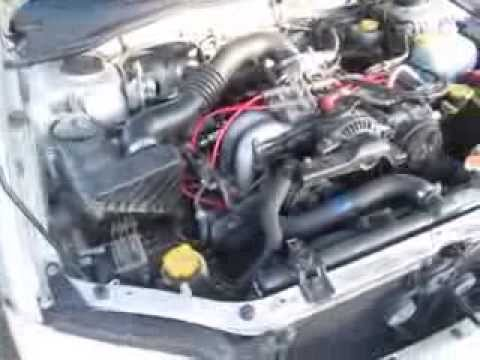2002 Subaru Legacy EJ25 to EJ22 engine conversion