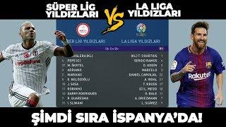SÜPER LİG YILDIZLARI vs LA LIGA YILDIZLARI - PES 2019 TÜRKÇE SPİKER