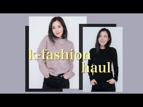 $1000 TRY-ON CLOTHING HAUL | Korean Fashion Online