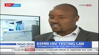 New HIV Viral Load Testing Laboratory launched at KEMRI | KTN News Desk