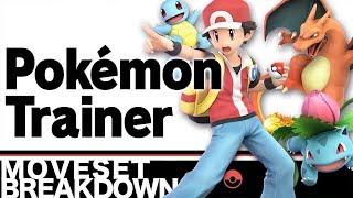 Smash Bros Ultimate: Pokemon Trainer Moveset Breakdown