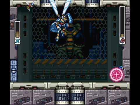 Megaman X3 [PSX] music boss battle
