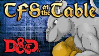 TFS At the Table Special: Billy Punchyface Round 2: Megalo Rat | Dungeons and Dragons | TeamFourStar