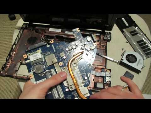 Замена процессора в ноутбуке (2 ядра на 4 ядра)